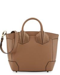 Christian Louboutin Eloise Large Leather Tote Bag Beige