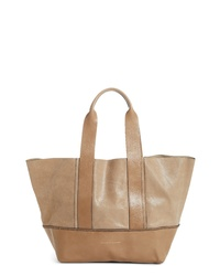 Brunello Cucinelli Contrasting Leather Shopper