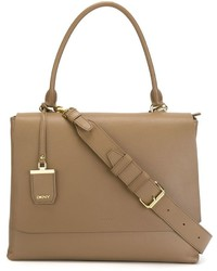 DKNY Large Flap Tote