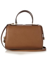 Dolce & Gabbana Dolce Bowling Grained Leather Tote