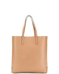 Burberry Embossed Logo Tote Bag