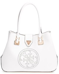 ba486ce5fb ... GUESS Quattro G Perforated Tote ...