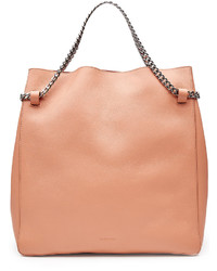 Jil Sander Leather Tote With Chain Straps