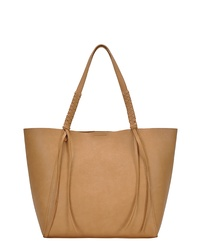 ANTIK KRAFT Knotted Faux Leather Tote