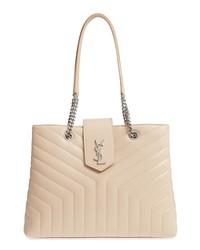 Saint Laurent Large Loulou Matelasse Leather Shopper