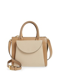 Marni Law Colorblock Leather Satchel