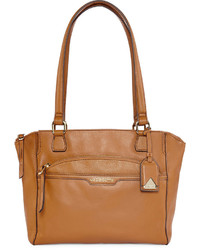 Liz Claiborne Amy Leather Shopper Tote