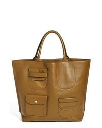 Marni Multipocket Leather Tote