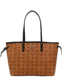 MCM Medium Reversible Faux Leather Tote Bag