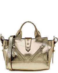 Kenzo Metallic Leather Medium Kalifornia Tote