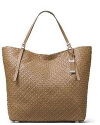 Michael Kors Michl Kors Collection Hutton Woven Leather Tote