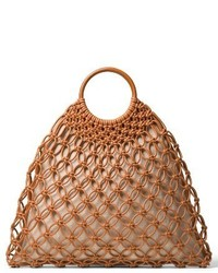 Michael Kors Michl Kors Cooper Woven Leather Tote None