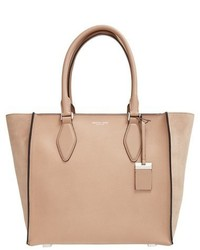 Michael Kors Michl Kors Large Gracie Leather Tote Brown