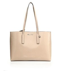 Miu Miu Crackled Patent Leather Tote