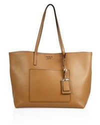 Prada City Leather Tote