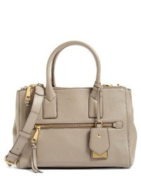 Marc Jacobs Recruit Eastwest Pebbled Leather Tote Beige