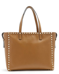 Valentino Rockstud Untitled 12 Small Leather Tote
