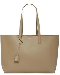 Saint Laurent Soft Leather Tote Bag