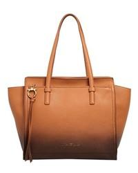 Salvatore Ferragamo Medium Amy Grained Leather Tote Bag