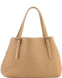 Bottega Veneta Small A Shape Tote Bag Light Brown