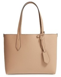 Burberry Small Haymarket Reversible Tote Beige