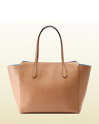 Gucci Swing Medium Leather Tote