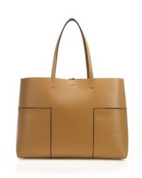 Tory Burch Block T Leather Tote