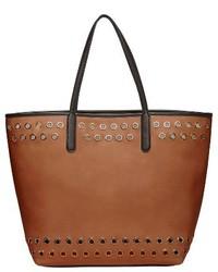 Urban Originals Wonderland Faux Leather Tote Shoulder Bag Black