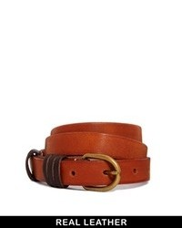 Tan Leather Waist Belt