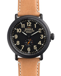 47mm runwell watch blacktan medium 153806