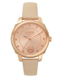 Versus Versace Chelsea Leather Watch