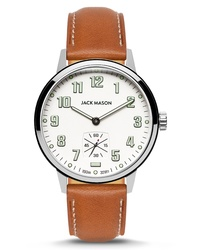 Jack Mason Field Sub Second Leather Watch