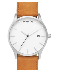 MVMT Leather Watch