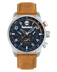 Timberland Neist Leather Chronograph Watch