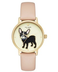 Kate Spade New York Grand Metro Antoine Leather Strap Watch 38mm