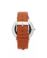 RumbaTime Soho Leather Hazelnut Watch