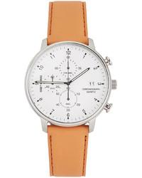 Issey Miyake Men White Tan C Model Watch
