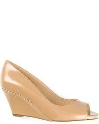 Peep toe wedge pumps medium 52136