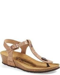 Papillio by ashley t strap wedge sandal medium 632613