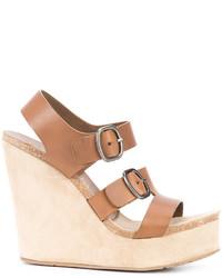 Pedro Garcia Wedge Sandals
