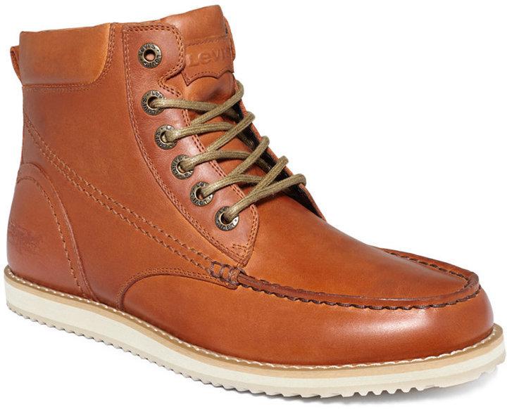 ea17b2b8160de Levi's Dean Boots, $85 | Macy's | Lookastic.com