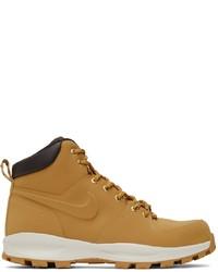 Nike Tan Manoa Boots