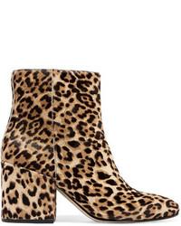 Taye leopard print calf hair ankle boots leopard print medium 3947034
