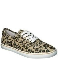 Mossimo Supply Co. Leopard Print Sneakers Brown 7