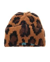 5436c997ccc ... Tak Ori Cortina Leopard Knit Beanie ...