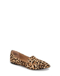 Steve Madden Feather L Genuine Calf Hair Loafer Flat