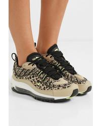 Nike Air Max 98 Leopard Print Canvas