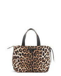 Prada Leopard Print Nylon Bag
