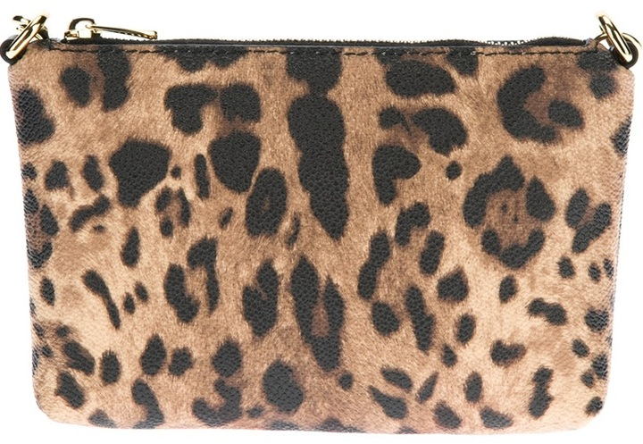 Dolce & Gabbana Leopard Print Clutch | Where to buy & how to wear