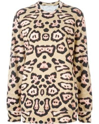 Givenchy leopard print sweatshirt medium 535779